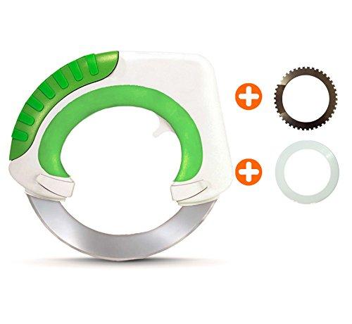 Offizielles Bolo-Rollmesser, revolutionäres Küchenmesser, ergonomisches Design und effizienter beim Zerkleinern, Würfeln und Schneiden als herkömmliche Messer