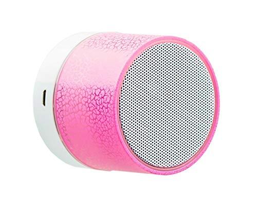 Altavoz Bluetooth PORTATIL 3W Colores LED Altavoces