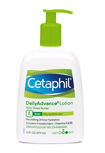 Cetaphil Daily Advance Lotion, With Shea Butter 16 Fluid Ounce