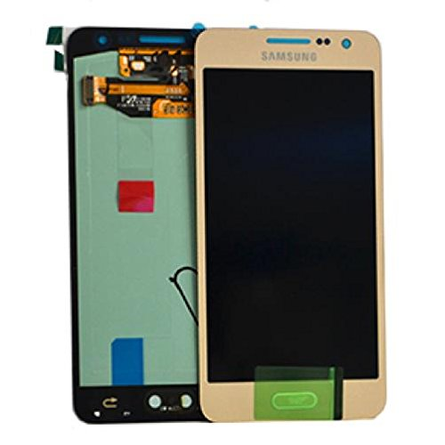 LCD-Schirm-TOUCH SCREEN SAMSUNG GALAXY A3 SM-A300FU GOLD SERVICE PACK BOMAItalia