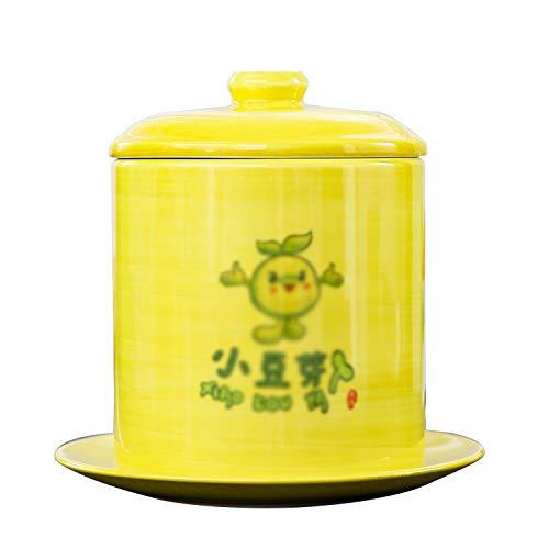 QQSS Mungobohnen Samen Keimtopf Große Kapazität Sojabohnensprossen Hersteller Gesunde Bio Samen Sprossen Tablett für Garten Home Küche Verwendung