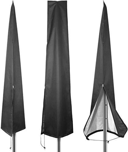 Sonnenschirm Abdeckung, Wasserdicht Oxford Extra Large Parasol Abdeckungen Mit Zip Hanging Zusatz Cantilever Garten Sonnenschirm-Regenschirm-Abdeckung Wetterfest, Wasserdichten UV