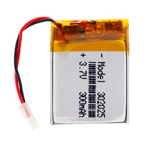 RFGTYH 3.7V 300mAh 302025 Baterías de polímero de Litio de polímero de Litio...