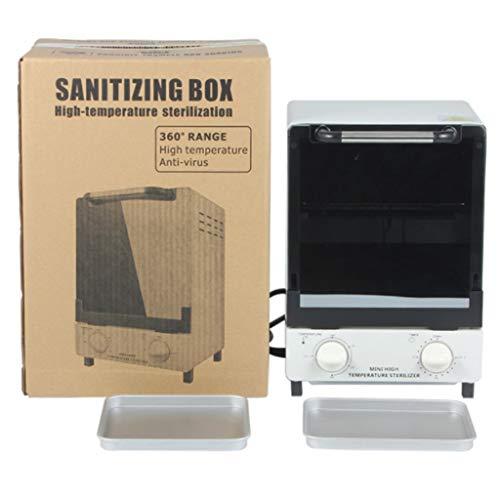 Stérilisateurs 12L Beauté Nail Tool Towel Warmer UV Stérilisateur Désinfection Hot Heater Cabinet avec 2 Commutateurs Salon Spa Soins de Santé Visage