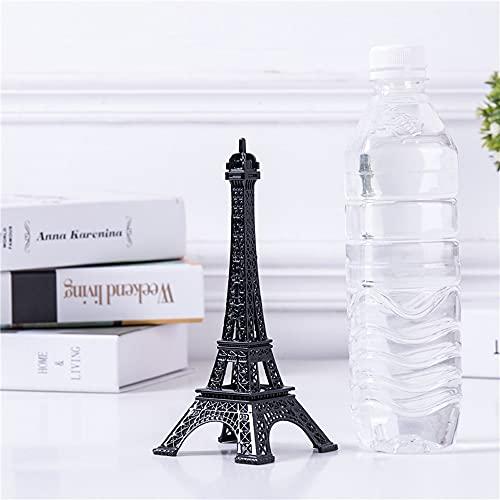 Chaobing Torre Eiffel Modelo de Arte Artesanal Adornos de Modelo -Figurines Pieza Decorativa para Dormitorio, Sala de Estar, estantería, Mesa o Pantalla de televisión (Number : Number1)
