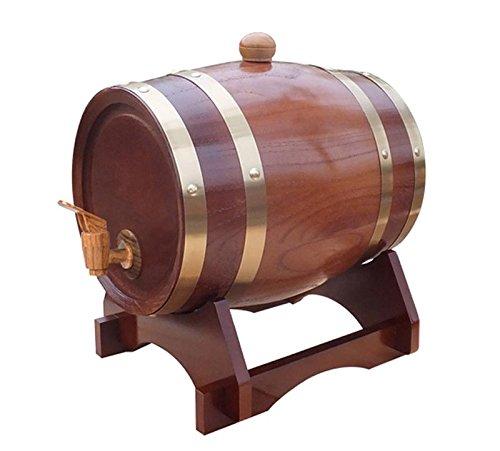 Dispensador de vino de barril de madera Pine 5L , 8
