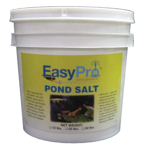 EasyPro Pond Salt, 50-Pound Pail