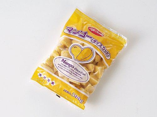 【Sweets-Kiss】 ライフフーズ 冷凍 マンゴー ダイス カット 500g