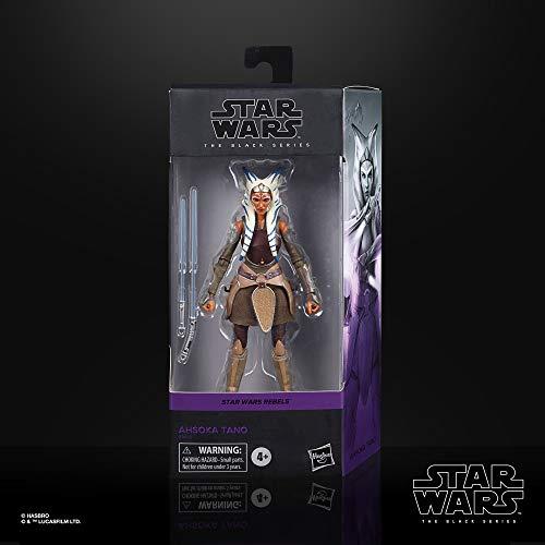 Star Wars The Black Series Ahsoka Tano Toy Figurine à Collectionner Star Wars Rebels 15 cm Jouet pour Enfants à partir de 4 Ans