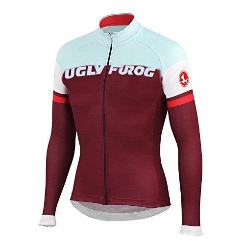 Uglyfrog HDSLJ05 Radtrikot 2018-2019 Neu Frühling Herren Mode Fahrradbekleidung Langarm Gemütlich Atmungsaktiv Anzug Radfahren Frauen Trikot