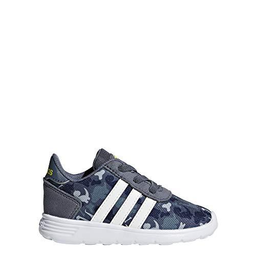 Adidas Lite Racer Inf, Zapatillas de Deporte Unisex niño, Multicolor (Onix/Blanub/Amasho 000), 23 EU