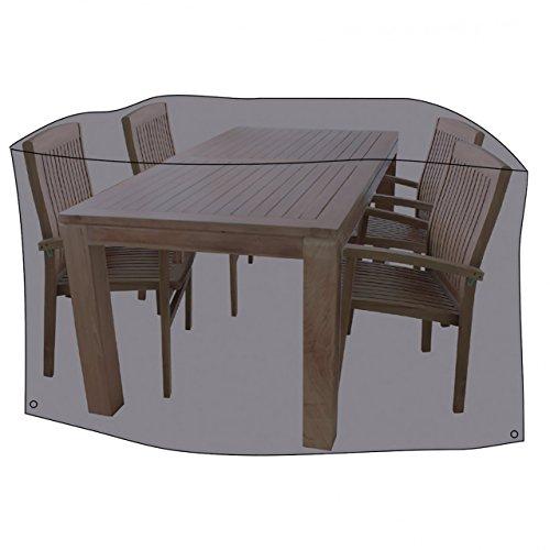 LINDER EXCLUSIV LEX - Telo protettivo per sedie da giardino, 320 x 93 cm, borsa per il trasporto