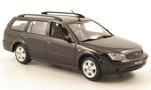 Ford Mondeo MKIII Turnier, dkl.-blau, 2001, Modellauto, Fertigmodell, Minichamps 1:43