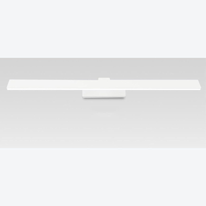 SUN LL Spiegel vorne Lichter LED wasserdicht Nebel WC Spiegel Spiegel Bad Spiegel Schrank Lichter moderne einfache Toilette (Farbe   Wei-Mirror section-10w62cm)