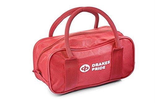 Drakes Pride Bowlingtasche für 2 Kugeln rot Maroon