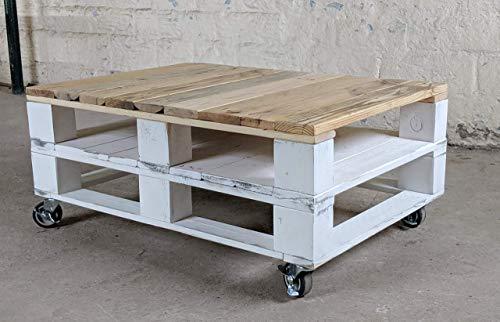 Mesa de centro con Palets de madera estilo Rustico & Vintage para Salon