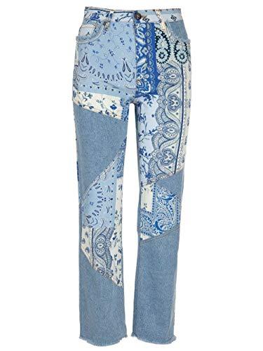 Etro Luxury Fashion Damen 144519459201 Hellblau Andere Materialien Jeans   Ss21
