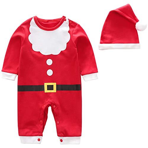 XFDYJ Disfraces para niñosMono Navideño Infantil con Capucha Adecuado para Fiesta De Disfraces De Cosplay,80CM