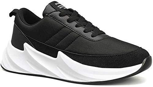 Seekort Men's Mesh Black Running Sports Walking Shark Shoes UK 9