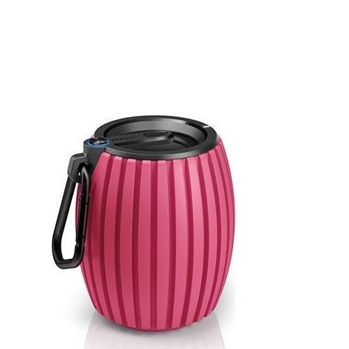 Philips SBT30PNK/27 SoundShooter Wireless Portable Speaker (Pink)