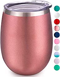 Albor Triple-Insulated Wine Tumbler with Lid