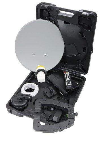 Selfsat Campingkoffer Micro CS 40 M310 Easyfind Mobile Camping Satellitenanlage
