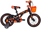 LYP Triciclo Bebé Trolley Trike Bicicleta for niños convenientes, niño 3-6-10 años de Edad 12/14/16 Pulgadas Masculino Bebé Bicicleta Niño Cómodo (Color : Orange, Size : 12 Inch)