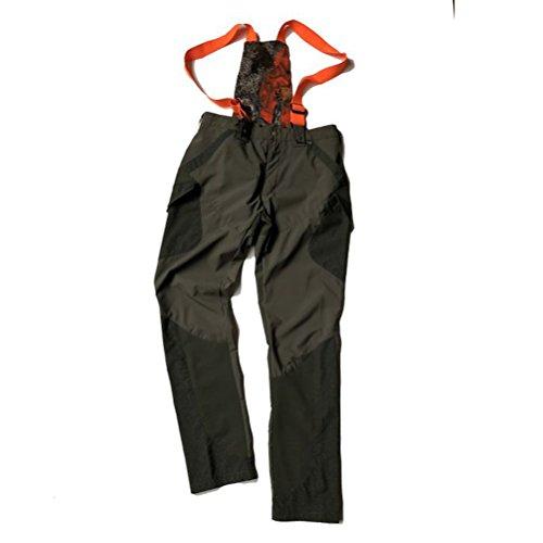Elastische broek met bretels voor jacht, technisch pak, trainingspak