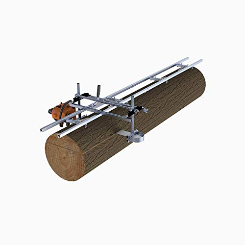 Sisenny 36 Inch Chain Saw Portable Chainsaw Mill Planking Milling Milling Guide Bar Rack 1803010 cm Chainsaw