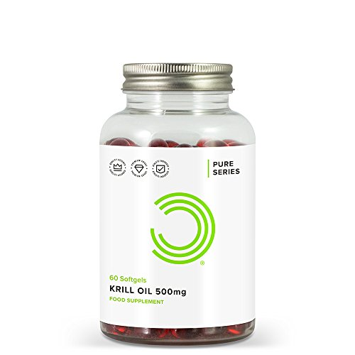 BULK POWDERS Krillöl Kapseln, 500 mg, 60 Kapseln