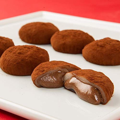 新杵堂 餅ショコラ 10個 ギフト プレゼント チョコレート スイーツ 餅 お土産 | 甘すぎない | トロトロチョコレート