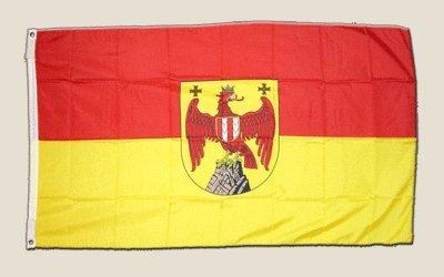 Flagge Österreich Burgenland - 90 x 150 cm [Misc.]