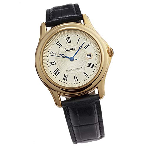 Stauer - Men's Metropolitan Wrist Watch with...