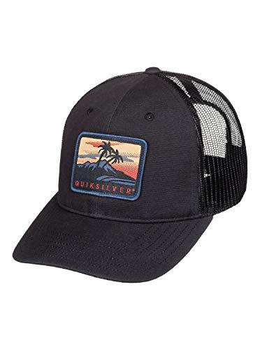 Quiksilver Ranger Rice AQYHA04620 - Cappellino da camionista, da uomo Nero Taglia unica