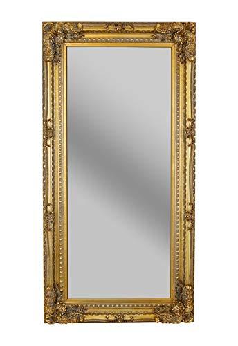 XL Spiegel Barock Gold 175x83cm Ganzkörperspiegel Wandspiegel Antik Flurspiegel sna029 Palazzo Exklusiv