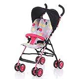 Poussette légère bébé carts Suspension Parapluie bébé Ultra léger Portable de voyage pour enfant Four-wheeled Cart