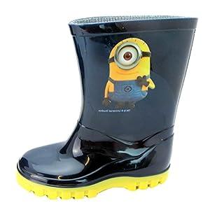 Kids Minions Snow Boots