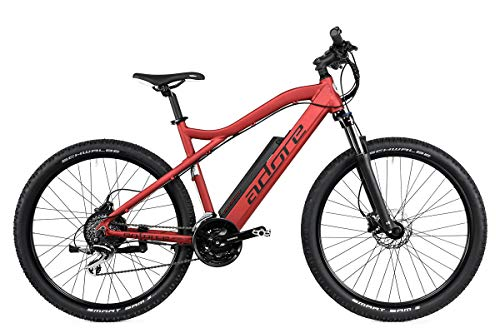 Adore Alu E-MTB 27,5'' Enforce E-Bike Rot 250 Watt Li-Ion 36V/14 Ah/504 Wh 24 Gänge