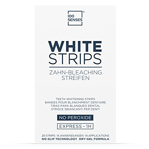 100SENSES White-Strips Kit, 28 strisce di...