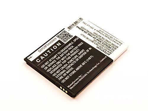 Akkuversum Akku kompatibel mit Mobistel Cynus F6, Handy/Smartphone Li-Ion Batterie