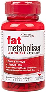 Nutritional Headquarters Fat Metaboliser Tablets 120's