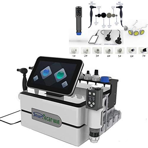 Portable Smart Tecar Wave Combine Diathermy ESWT Shockwave Therapy...