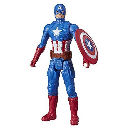 Boneco Titan Hero Marvel Capitão América - E7877 - Hasbro