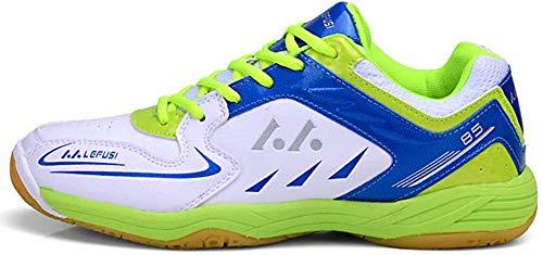 Mengxx Chaussures de Badminton pour Hommes...