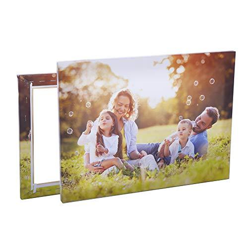 Stampa Foto su Tela | Personalizza con la Tua Foto e arreda Case, uffici e Locali - Comprende Telaio e Tela (20cm x 20cm)