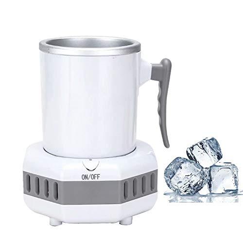 Boire une tasse de refroidissement rapide instantanée, mini-réfrigérateur portatif bouilloire électrique de refroidisseur de boissons d'été, machine à glaçons de voiture de bureau à domicile