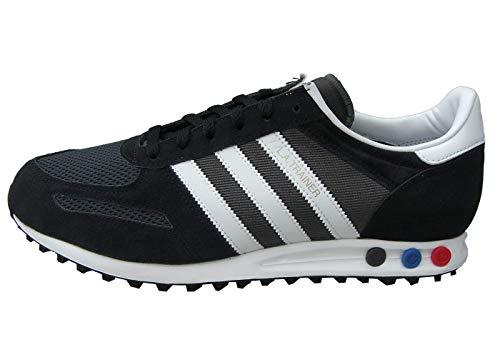 adidas LA Trainer Herren Sneaker Sportschuhe F34275 Schwarz-Weiß-Grau Größe 46 2/3 EU