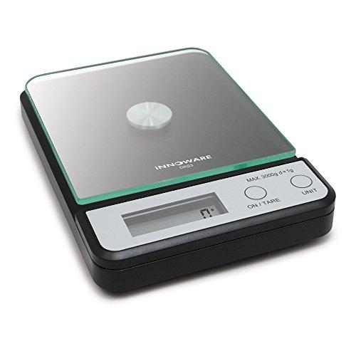 iNNOWARE 3000g Kitchen Food Digital Scale Glass Weighing Platform