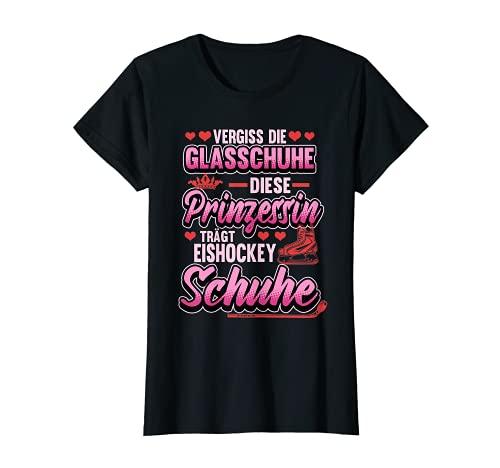 Eishockey Prinzessin Spruch Mädchen Sport Geschenk T-Shirt