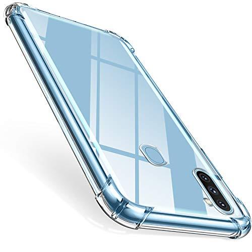 ivencase für Huawei P Smart 2020 Hülle, Stoßfest Transparent Silikon TPU Soft Premium Hülle Anti-Kratzer Schock-Absorption Durchsichtig Schutzhülle für Huawei P Smart 2020